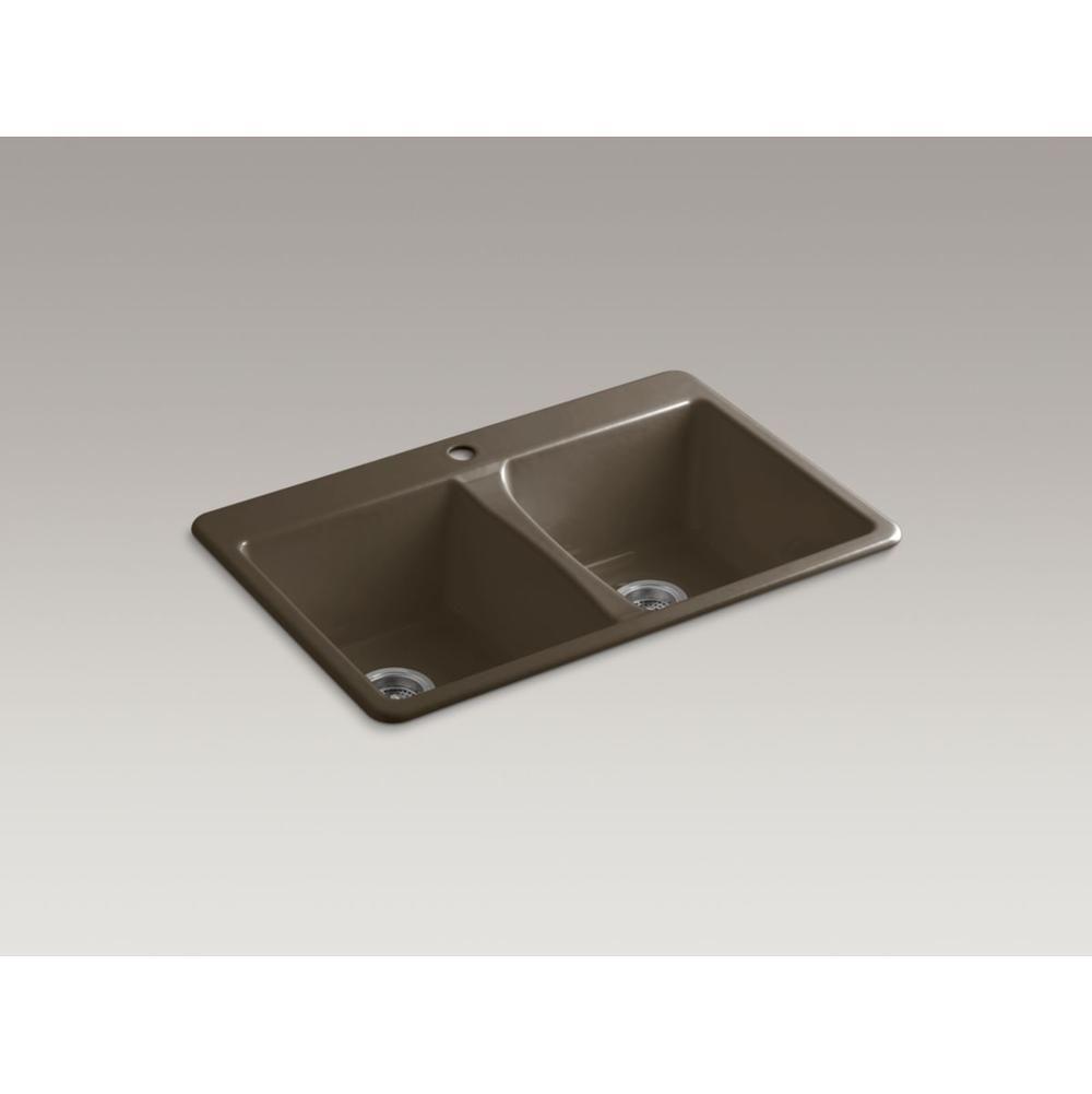 Kohler 557834 At Wiseway Design Showroom Drop In Kitchen Sinks In A Decorative Suede Finish Drop In Kitchen Sink Bath Design Plumbing Fixtures