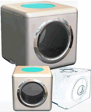 Tiny 2 in 1 Washers and Dryers | Small places, Dorm room and Washer