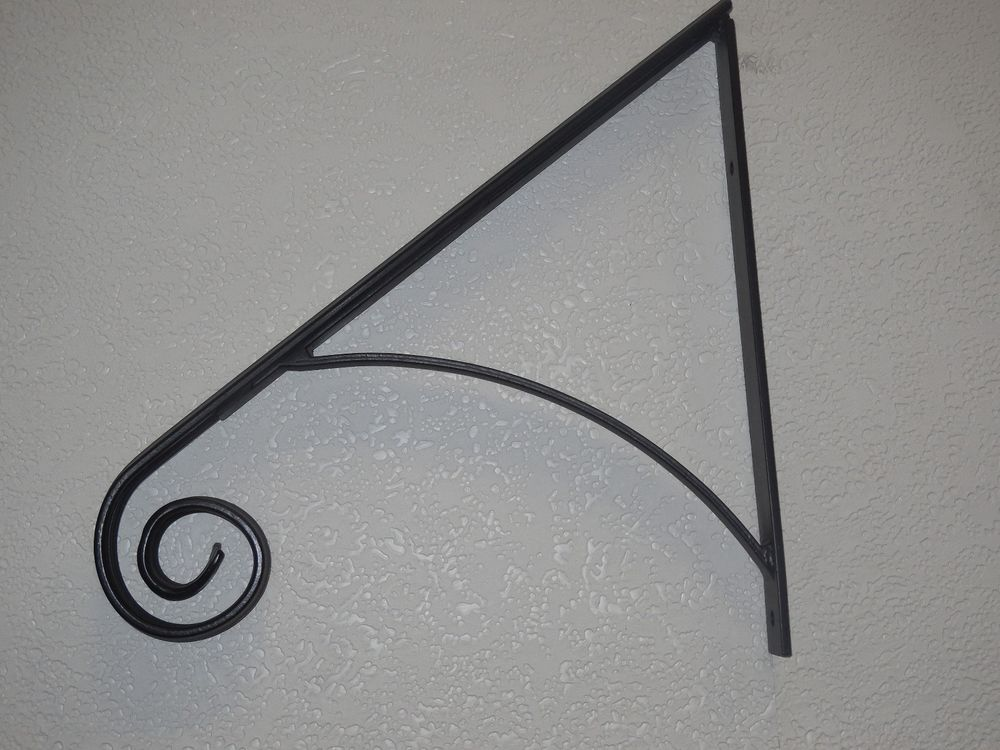 Grab Support HAND RAIL WROUGHT IRON HANDRAILING WALL MOUNT RAILS ...