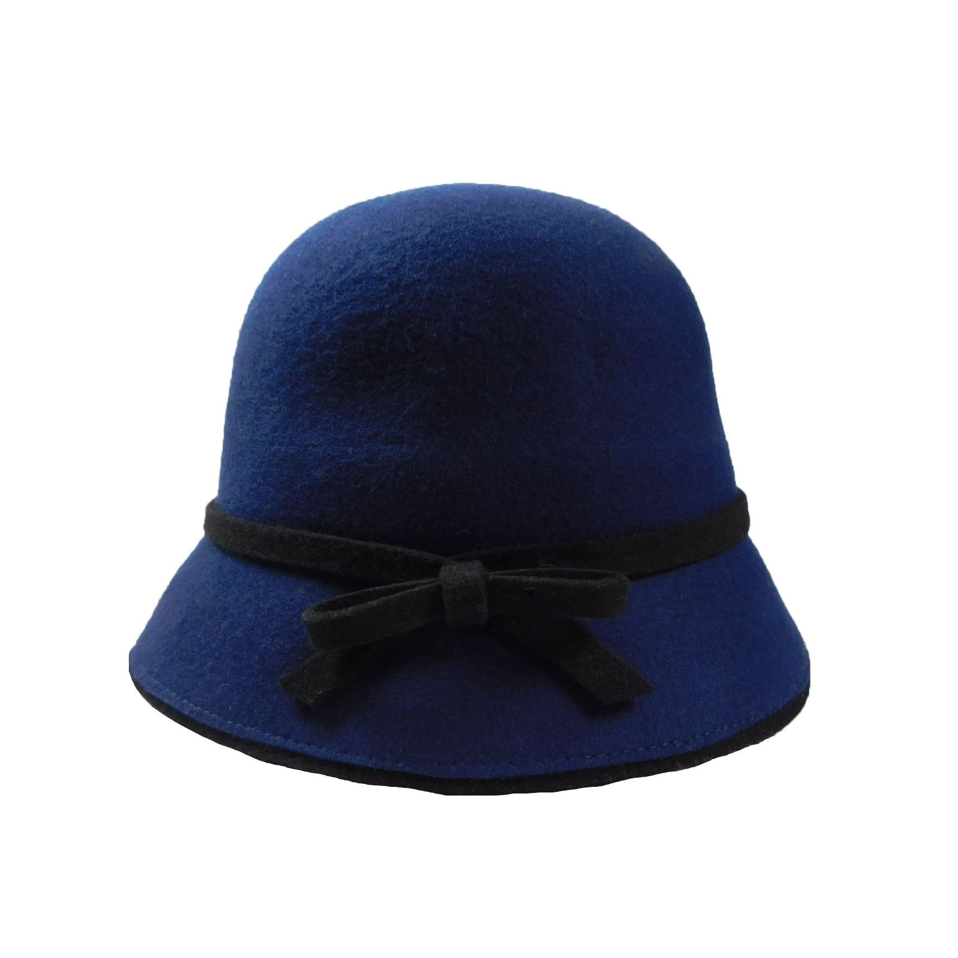Wool Felt Cloche/Bucket Hat | Top Of The Head, Too You ...