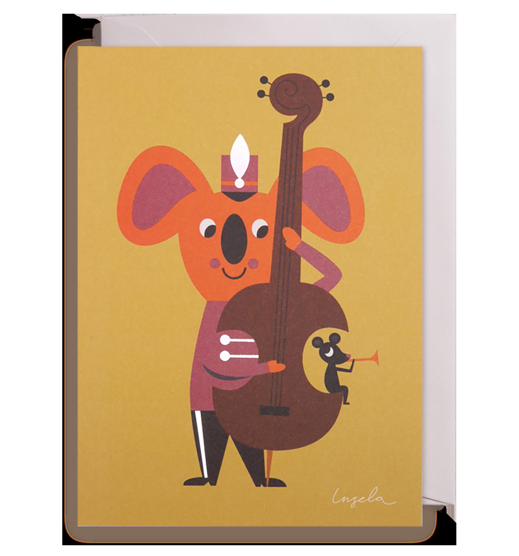 Koala Bear Greeting Card Card Pinterest Bears And Cards
