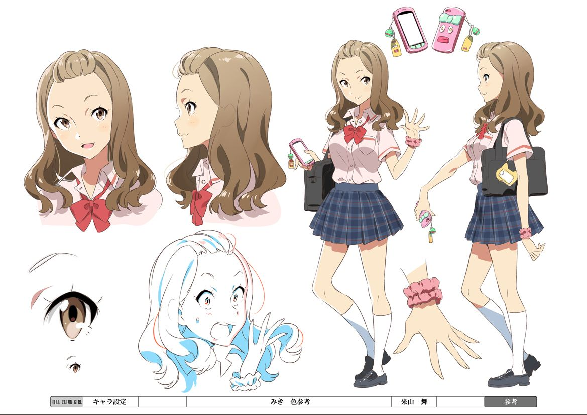 "Design Your Anime Character : ""hill climb girl khara website http"