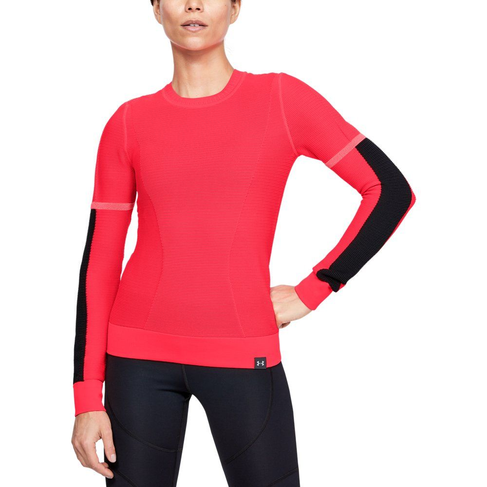 Under Armour Womens IntelliKnit - Red LG #knittedsweaters