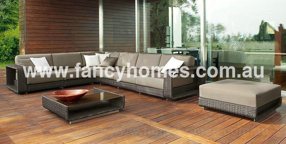 Nice Mariso   Desinger Wicker Outdoor Corner Lounge Group $1900