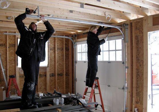 Installation Process Of Garage Door Opener Garage Door Repair Service Door Repair Garage Door Installation