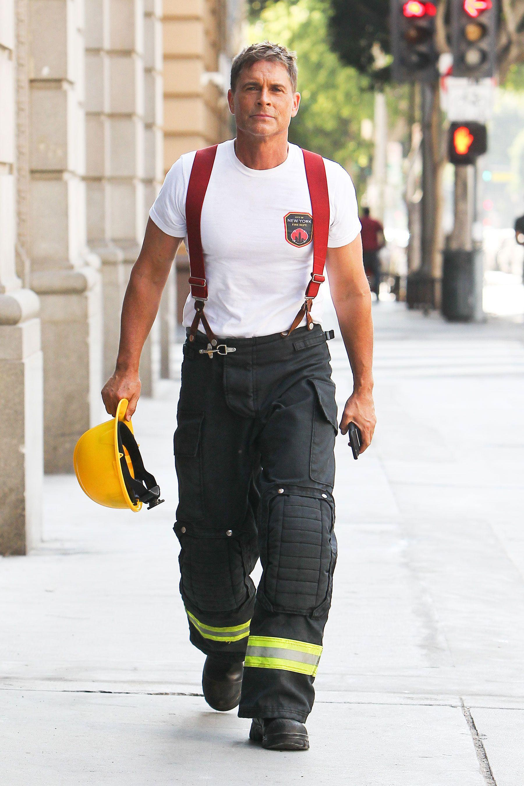 Rob Lowe Heats Up the 911: Lone Star Set, Plus Charlize Theron, Rihanna & More