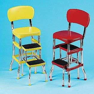 Admirable Retro Kitchen Tables On Retro Counter Chair Step Stool Red Ncnpc Chair Design For Home Ncnpcorg