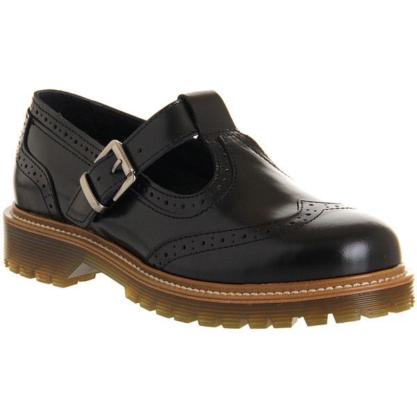 Office Valley Cleated Brogue T Bar 44 Liked On Polyvore Featuring Shoes