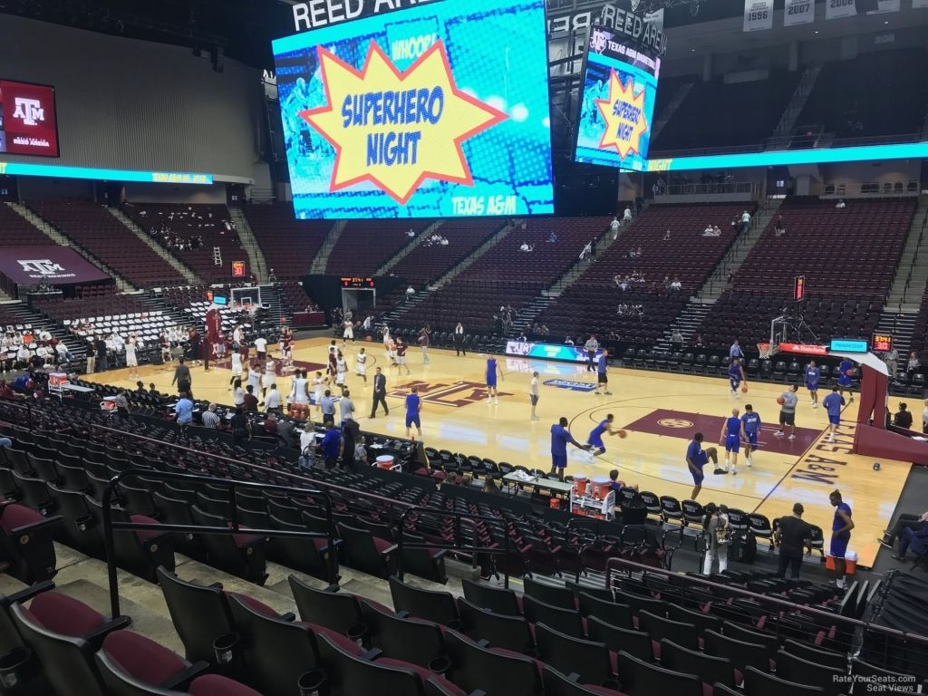 The Stylish As Well As Stunning Reed Arena Seating Chart