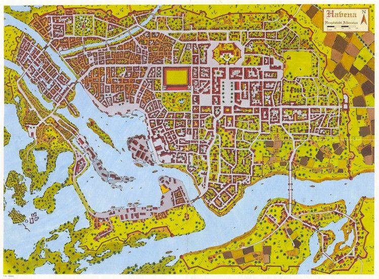 das schwarze auge karte Havena, das Schwarze Auge | Gaming Maps & Terrain Tiles / D&D
