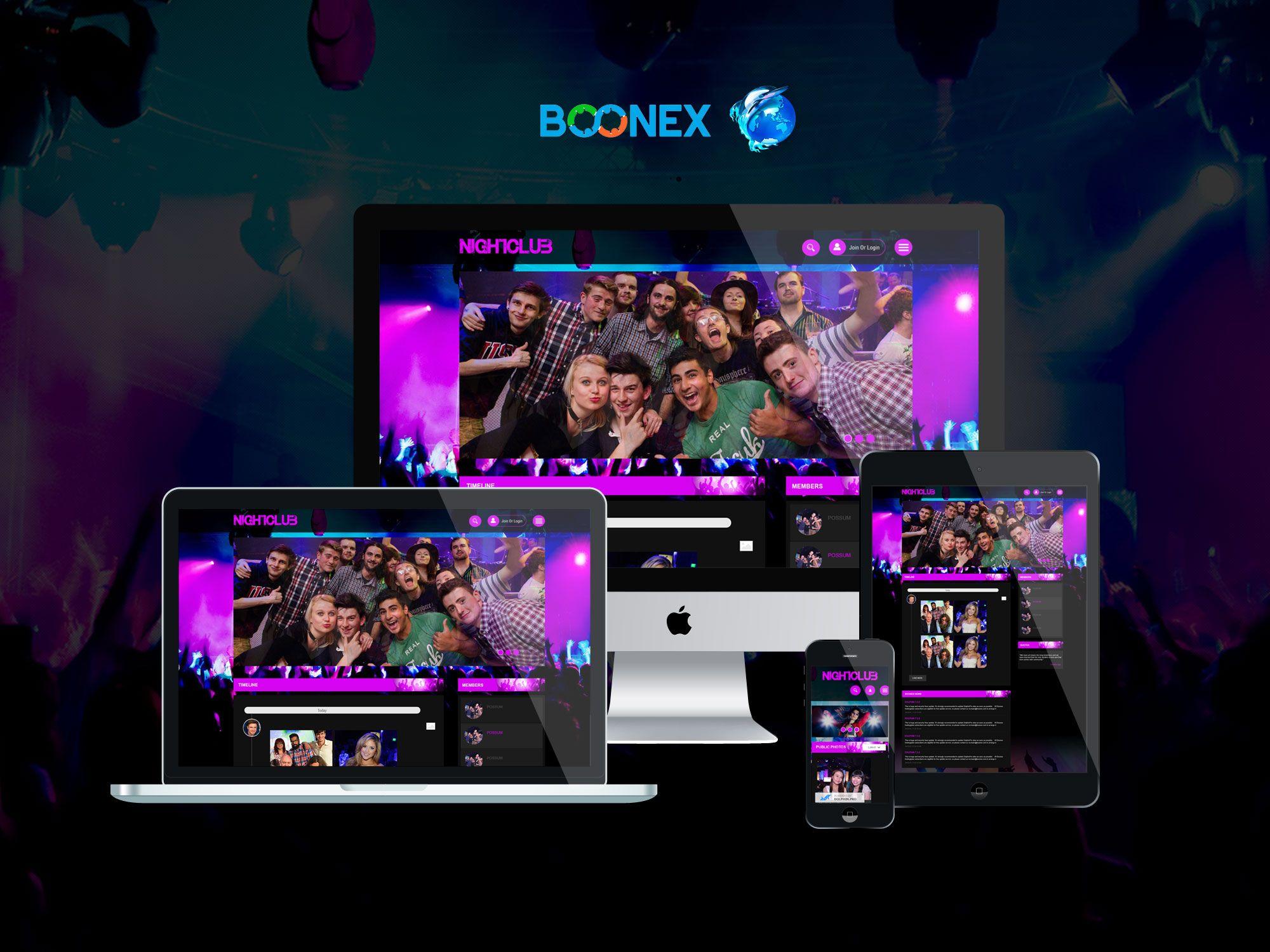 Night Club - Download Premium boonex dolphin template, Download ...