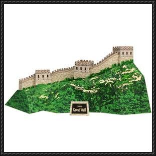 this architecturebuilding paper model is great wall of china from canon papercraft the great wall of china is a series of fortifications running in gener