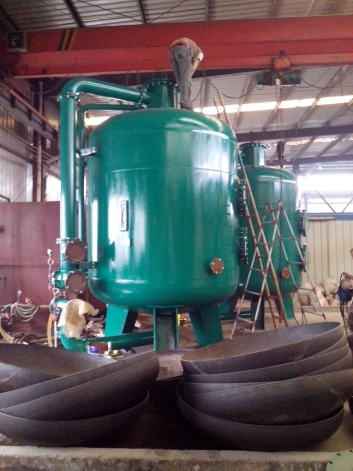 Large scale industrial filter | Water treatment plant | Water