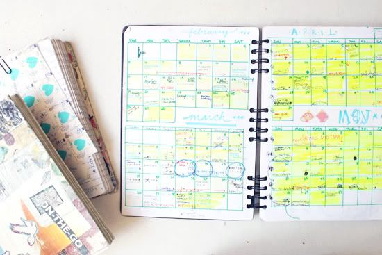 Keep a journal of workouts and meals, to keep on track