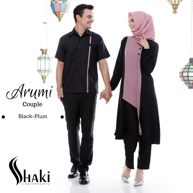 Model Baju Couple Tunik 11