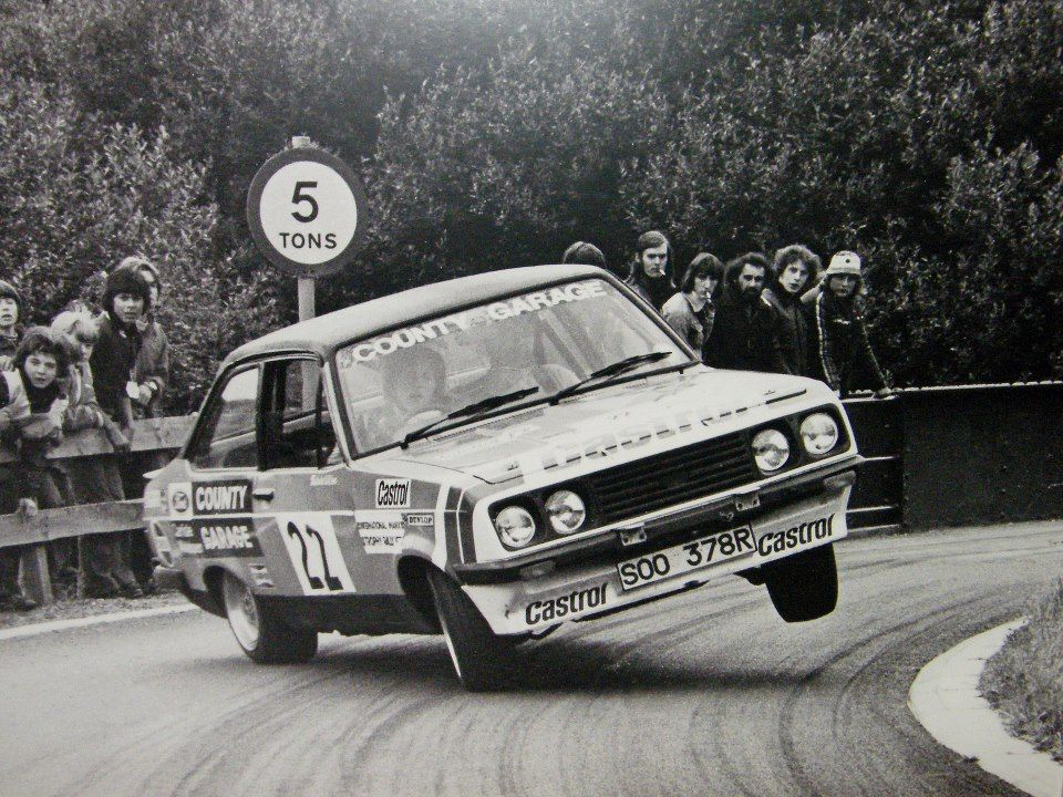 Malcolm Wilson Ron Palmer Ford Escort Rs2000 Gr 3 County