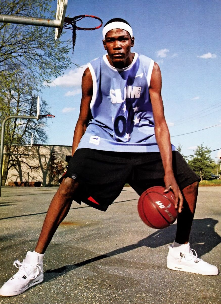 Kevin Durant in high school Basketball players nba