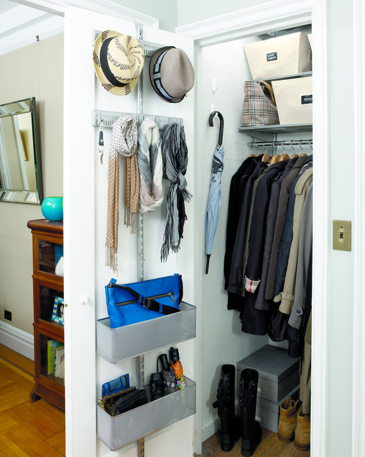 How To Declutter Your Coat Closet Like A Professional In 2020