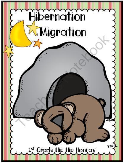 free hibernation migration freebie from first grade hip hip hooray on 7. Black Bedroom Furniture Sets. Home Design Ideas
