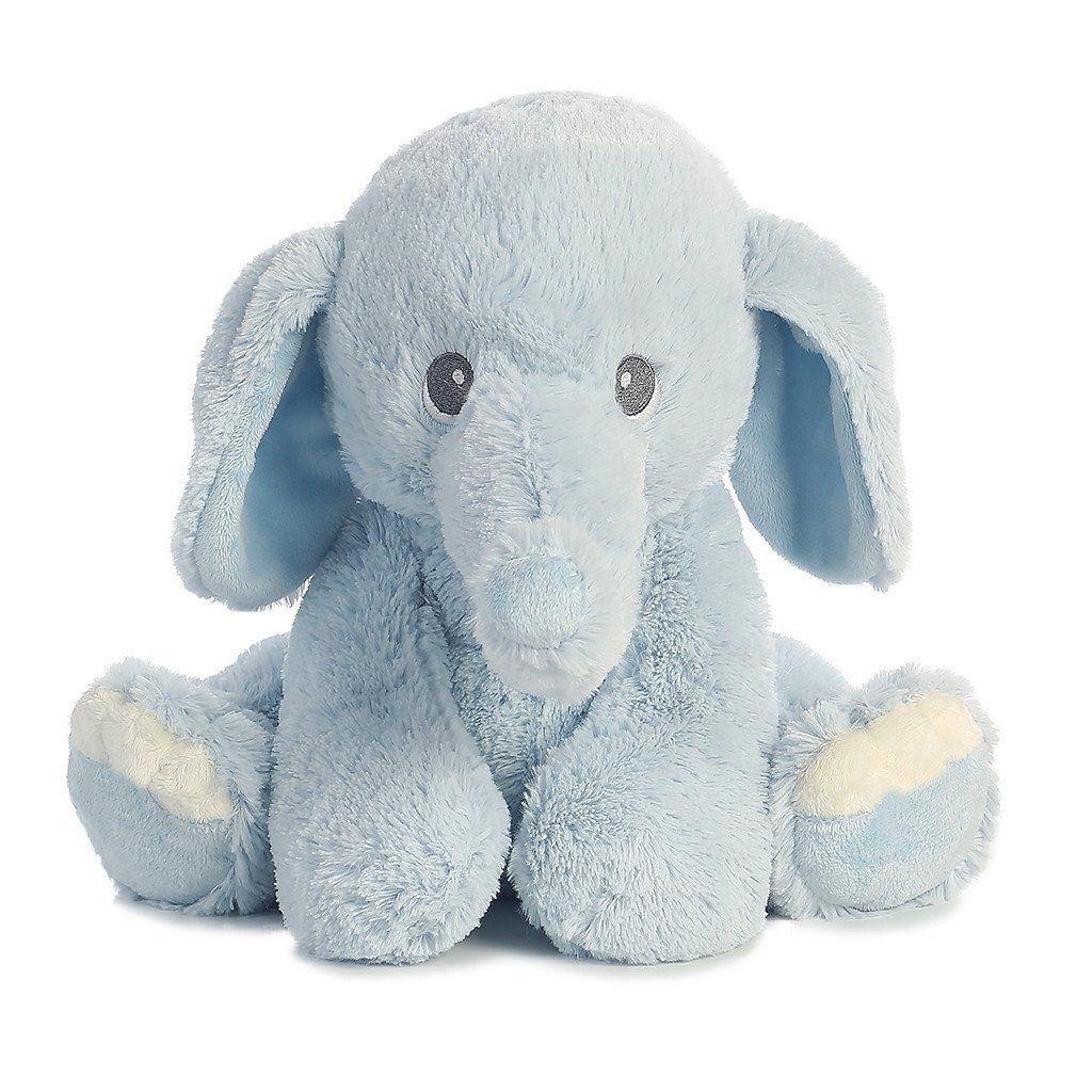 Aurora Baby Lil Benny Phant Blue 10in Elephant Stuffed Animal Blue Stuffed Animals Elephant Plush