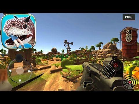 Dinosaur Hunter Dino City 2017 Android Gameplay 1 Kill 8 Brontosaurus Dinosaur Hunter City 2017 Brontosaurus