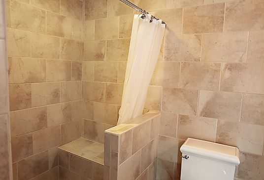 Curbless Shower Designs Without Doors In The Master Bathroom We