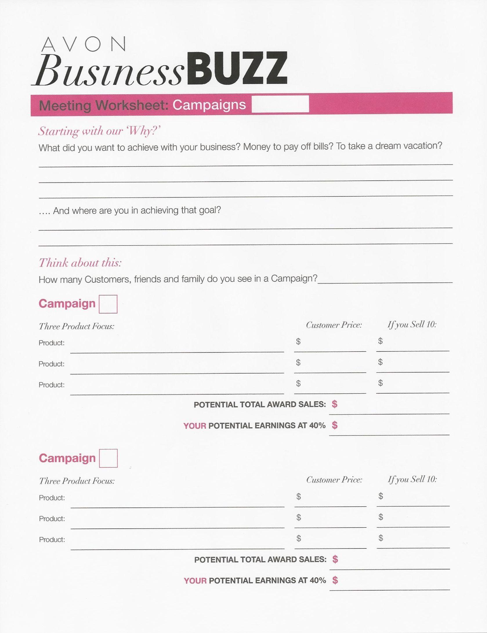 Business Buzz Worksheet 1 679 2 179 Pixels