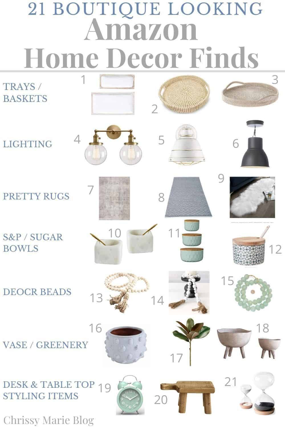 Want to freshen up your home but don't have time for endless shopping? I've gathered 21 affordable Amazon home decor finds that look like they came straight from a boutique!