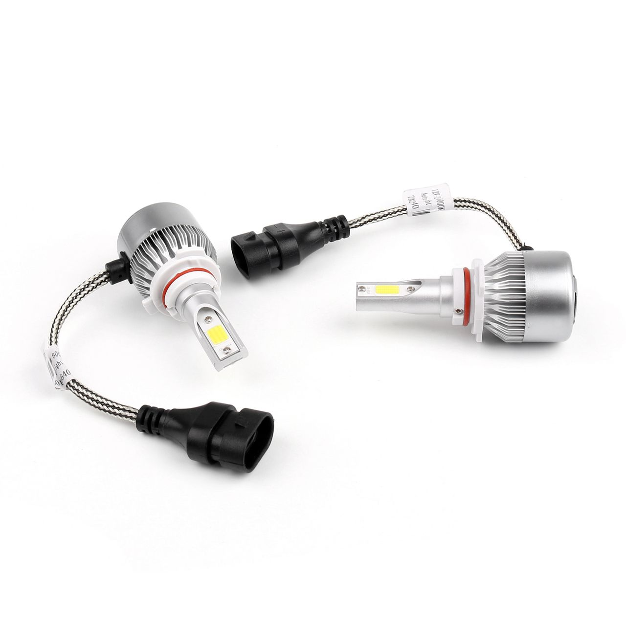 Car Auto Hb4 9006 Led Headlight Lamp Light 6000k 72w 7600lm White Plug Play C6 Lampen