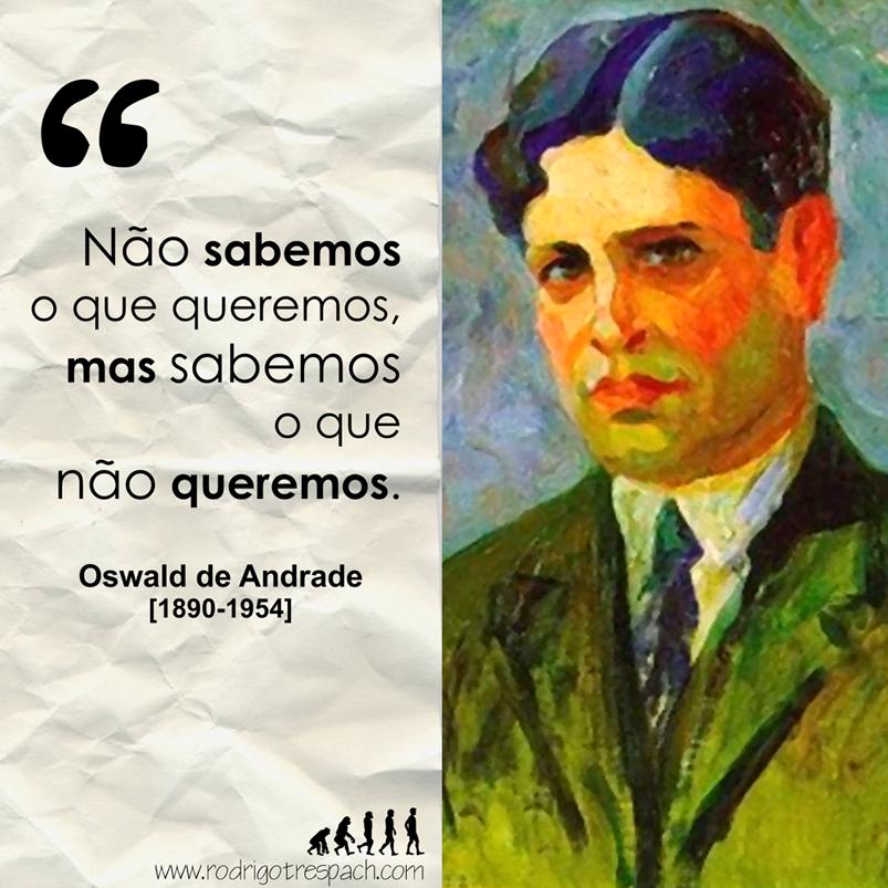 Oswald de Andrade | Oswald de andrade, Frases, Pensadores