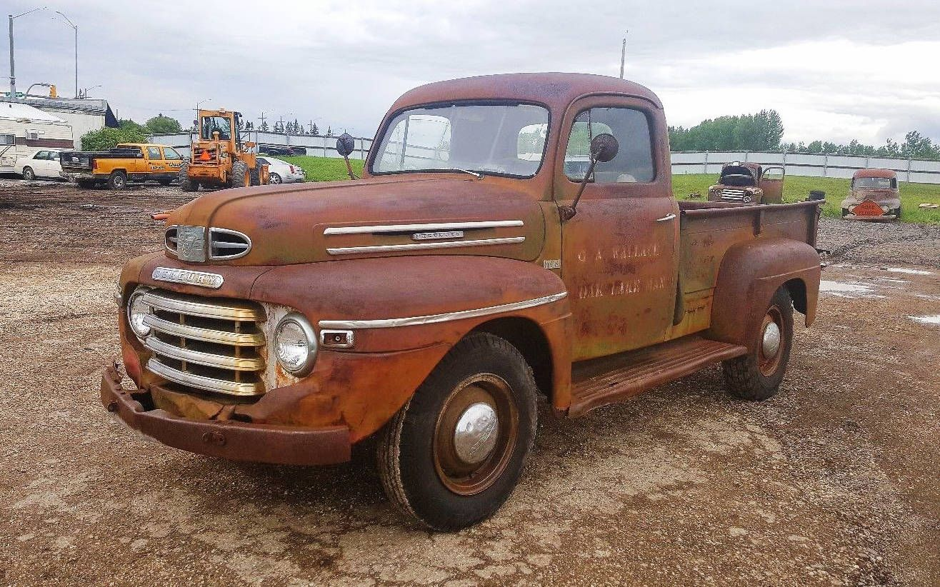 That S Some Patina 1949 Mercury M68 Truck Http Barnfinds