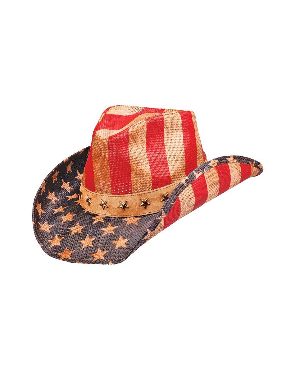 03927c51ca2a7 American Flag Cowboy Hat
