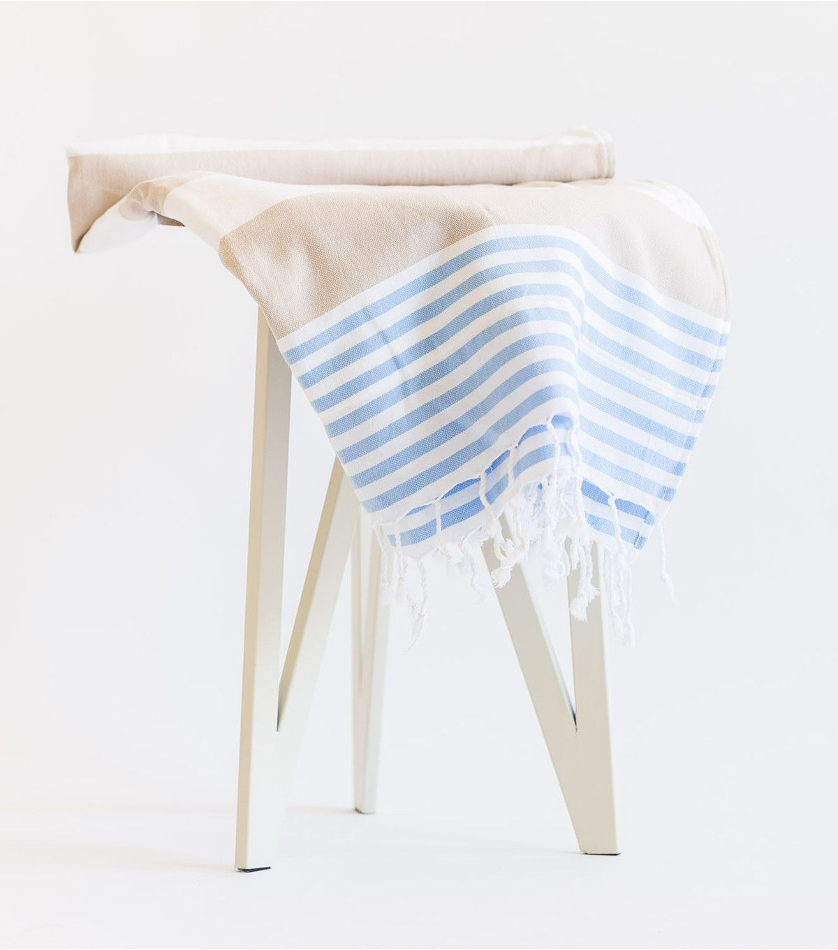 Seashore Towel Terry-Lined with Zipper Pocket