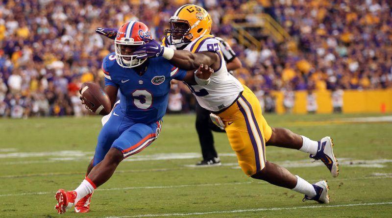 Lsu Tigers At Florida Gators Saturday Ncaa College Football