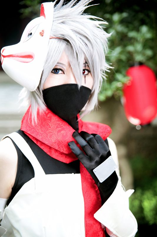 anbu kakashi mask - Google Search | I dream in cosplay ...