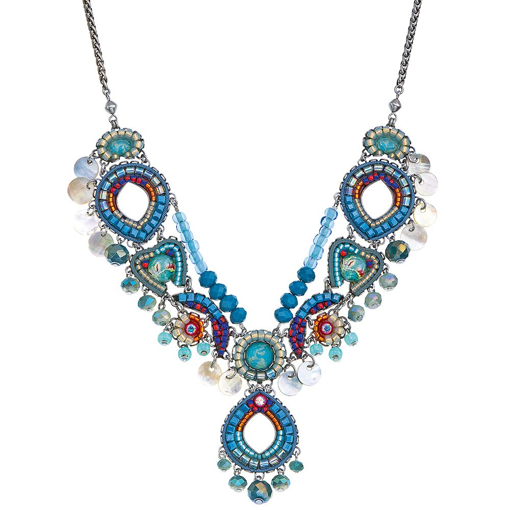 Ayala Bar Hidden Beach Glacial Mist Necklace Bar Jewelry Bar Necklace Necklace