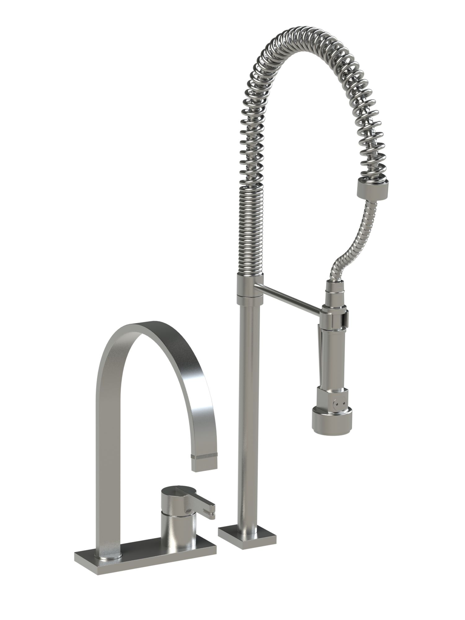 Restaurant Kitchen Faucet Rubinets Modern Kitchen Faucet With Suspended Spray R10