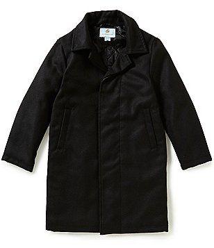 50e8d81f6ea2 Class Club Big Boys 8-20 Flannel Long Dress Coat