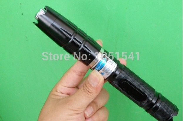 NEW High Power 450nm 200000mw 200Watt blue laser pointers burning match/paper/candle/black/Cigarettes+5 caps+glasses+changer+box