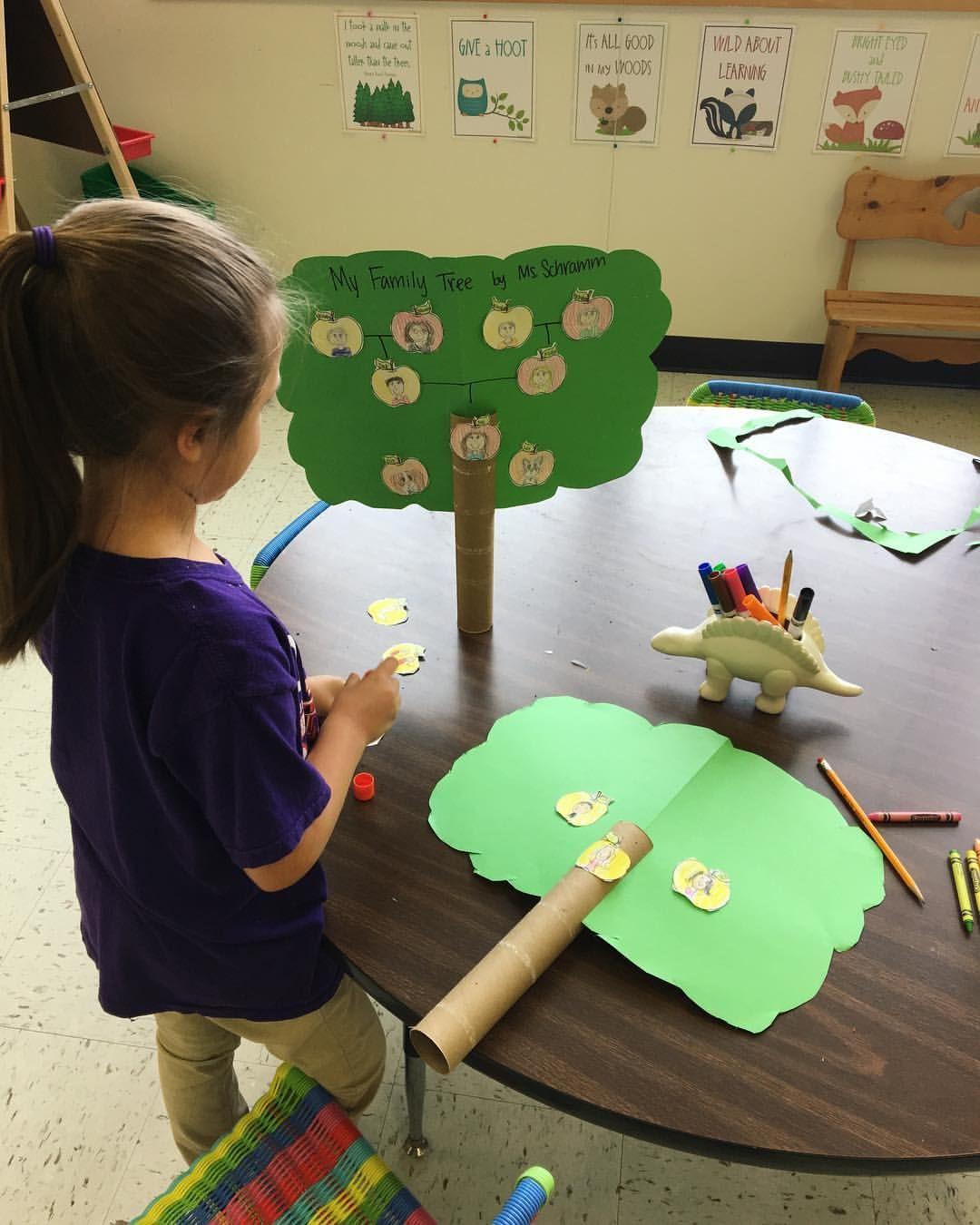 First Grade Family Tree Stem Project Wearefamily
