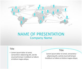 Business network powerpoint template pinterest business business network powerpoint template toneelgroepblik Images