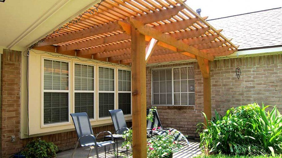 How Much Does It Cost To Build A Pergola Pergola Cost Pergola Building A Deck