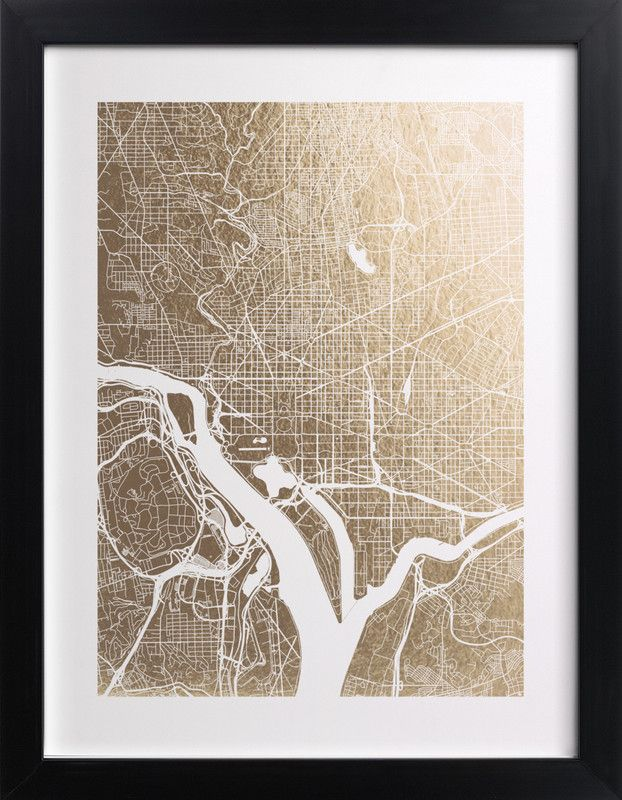 Loving this foil pressed Washington map Considering this