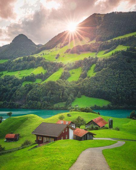 Fotografías de paisaje mágicas de Cuma Cevik, fotógrafo que antes fue pintor