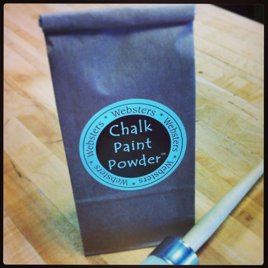 what is websters chalk paint powder made of