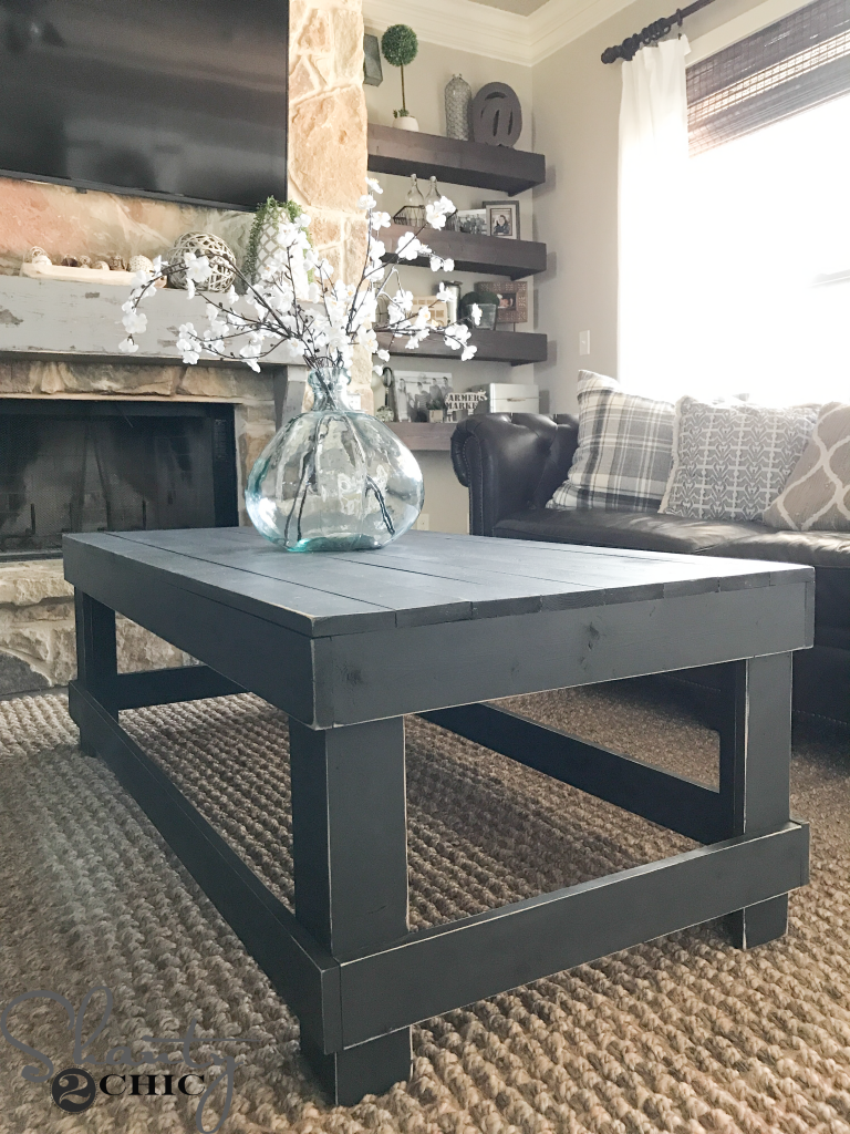 Two Tool Coffee Table Coffee Table Farmhouse Simple Coffee