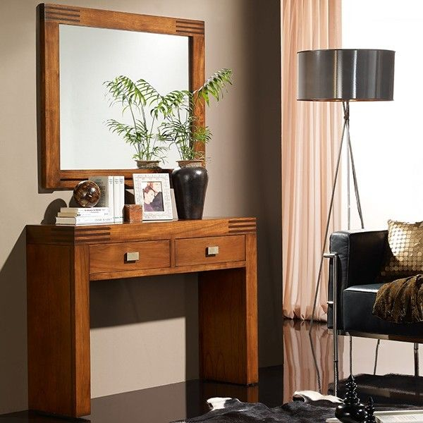 Recibidor con espejo ideas para decorar la casa for Espejos entrada
