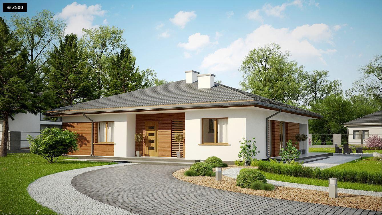 Z321 projekt z321 to dom parterowy o powierzchni ok jego zdecydowanie najwikszym atutem jest rozplanowanie malvernweather Images