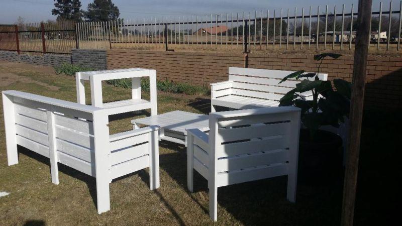 Pallet Wood Patio Furniture Springs Gumtree South Africa