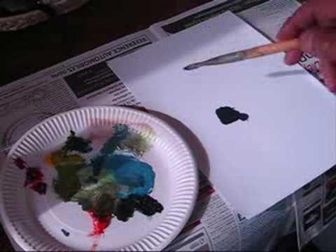 Cours De Peinture : Comment Faire Du Noir Avec 3 Couleurs